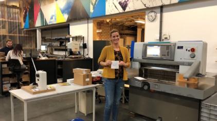 Shirley's gedichtenkamer de digitale drukker
